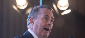 Liam Fox said he wanted developing countries to 'trade their way out of poverty'