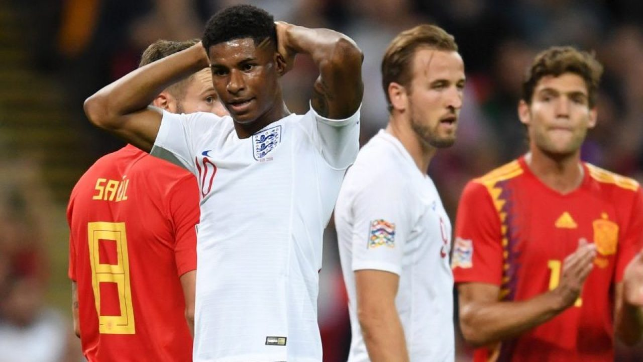new concept 76c99 61c98 Trevor Steven: Marcus Rashford shows England's youngsters ...