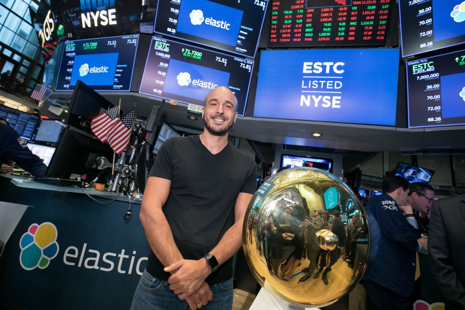 Elastic, the open-source tech startup behind Uber and Tinder, scores