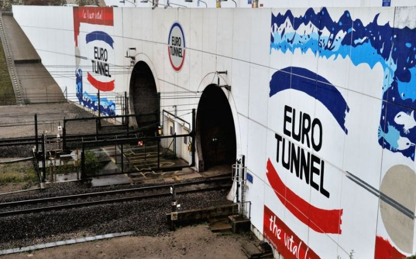 Getlink operates the Channel Tunnel