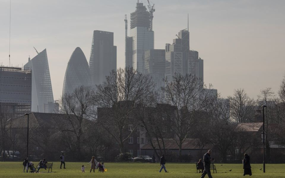 London is 'dragging' on average house prices across UK's top 20 cities