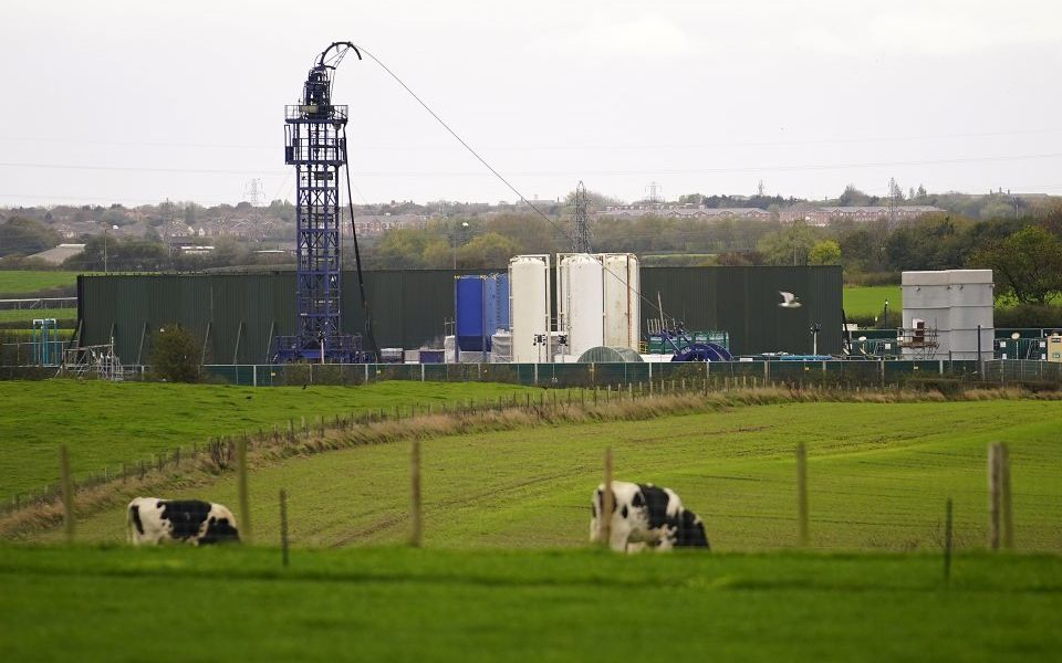 Record-breaking 2.9 earthquake measured at Lancashire fracking site