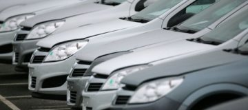Green shoots: British new car registrations up for first time in five months
