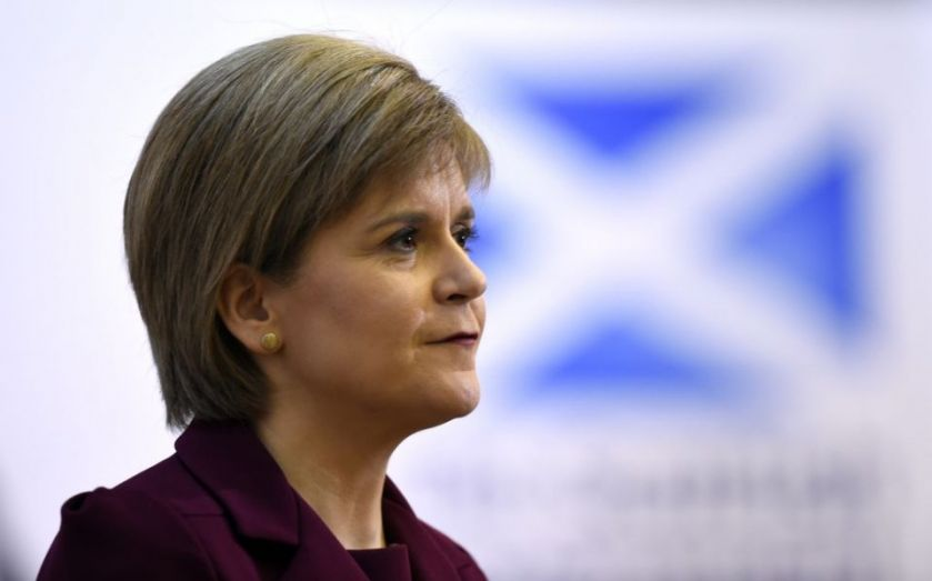 """Nicola Sturgeon on Brexit: In/out EU referendum must have """"double majority"""" rule"""