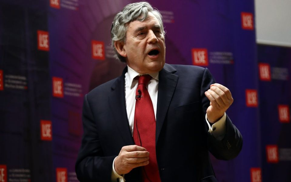 Gordon Brown: World 'sleepwalking' to another financial crisis
