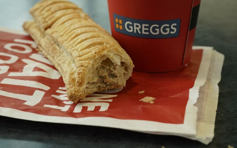 Greggs cooking up vegan versions of all its most popular products