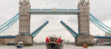 Flotilla on the Thames: There's going to be a royal river salute Queen Elizabeth II today with boats including Havengore, Gloriana, and Massey Shaw