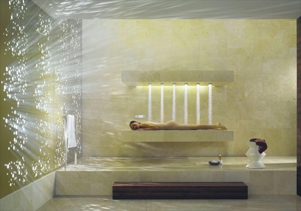 Interiors: Now the clock has sprung forward, treat yourself to a smart tech shower that'll make you want to get out of bed