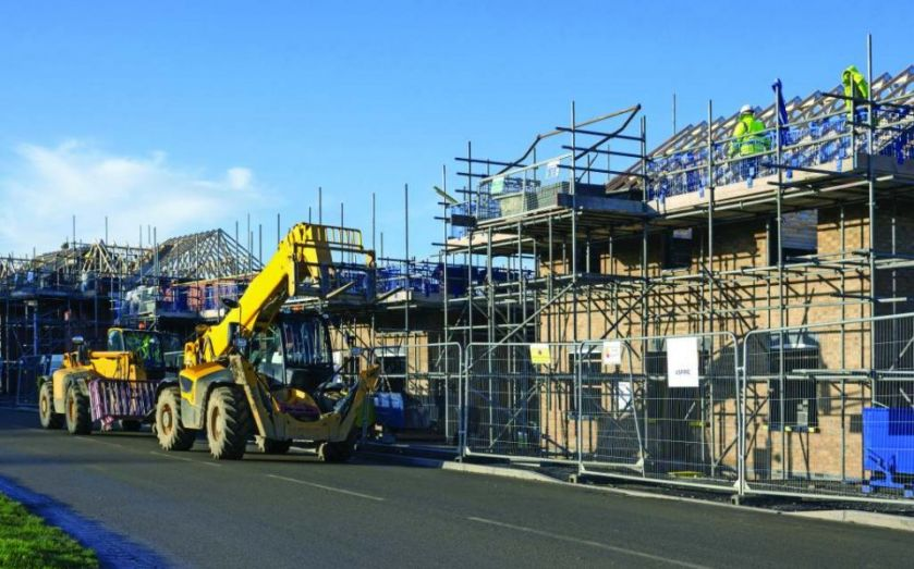 UK construction PMI: Housebuilding increases at its fastest
