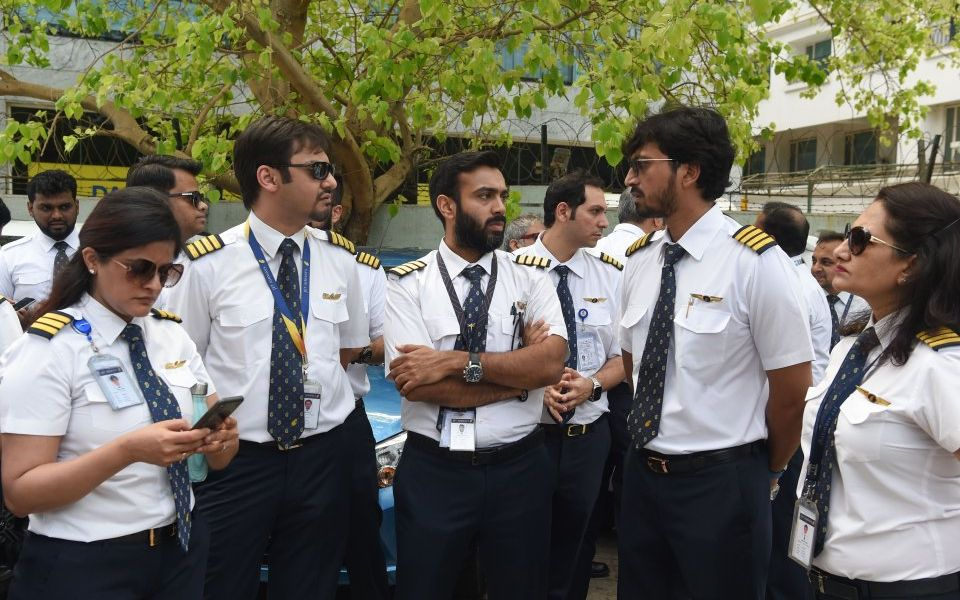 Jet Airways pilots call for Indian PM to intervene as airline grounds all international flights