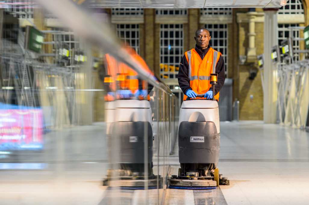 Interserve cleaning staff to vote on strike action amid union complaints of 'culture of fear' at Network Rail stations