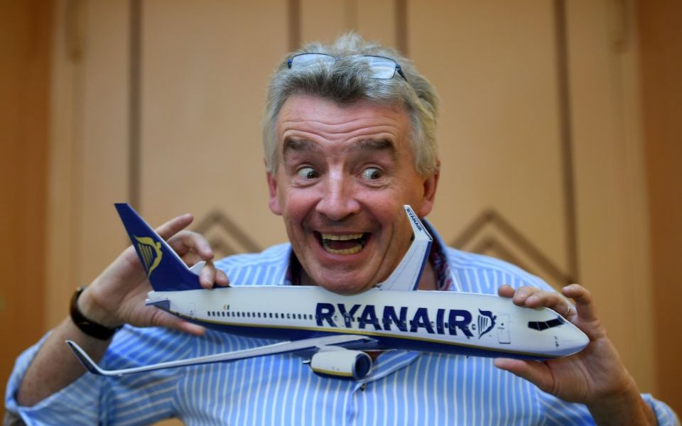 Will Ryanair gain from turbulent O'Leary moving aside?
