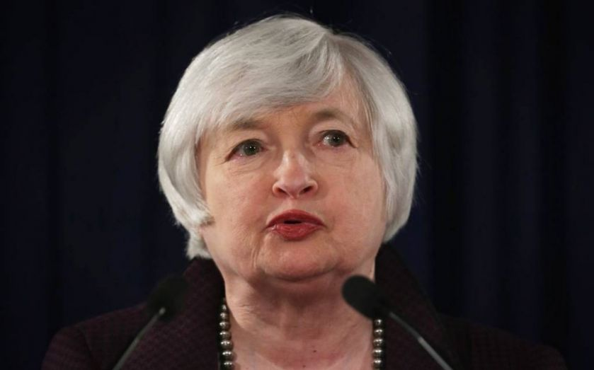 "Yellen: Fed will drop the word ""patient"" before it hikes interest rates"