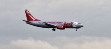 Travel firm Jet2 said it remained cautious in its outlook for next summer after falling to a pre-tax loss of £119.3m for the first half of the year