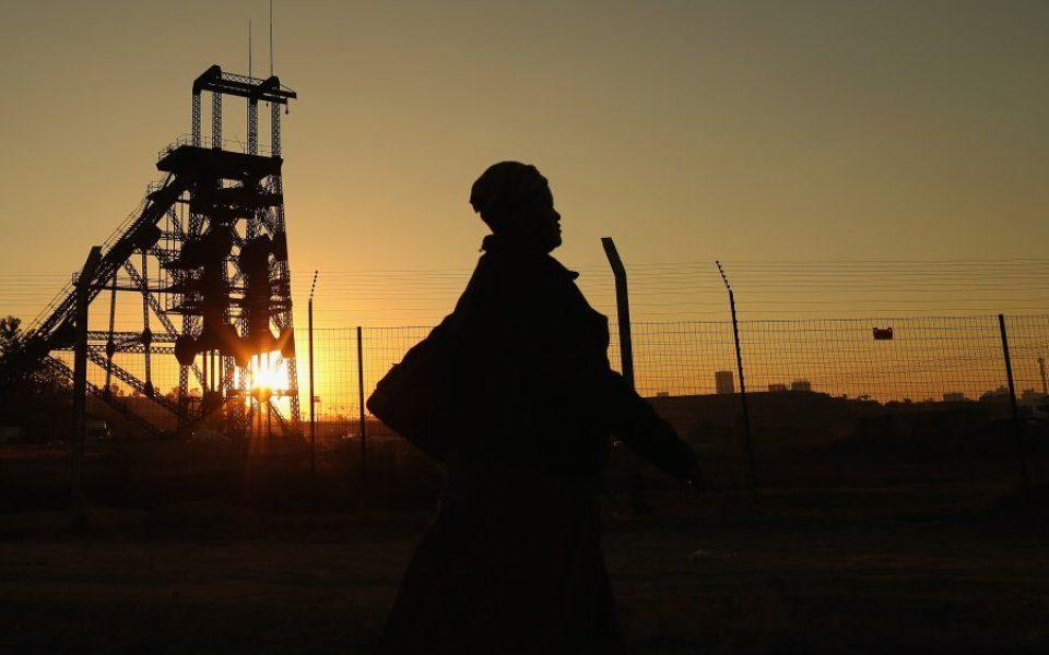 gold mining share price