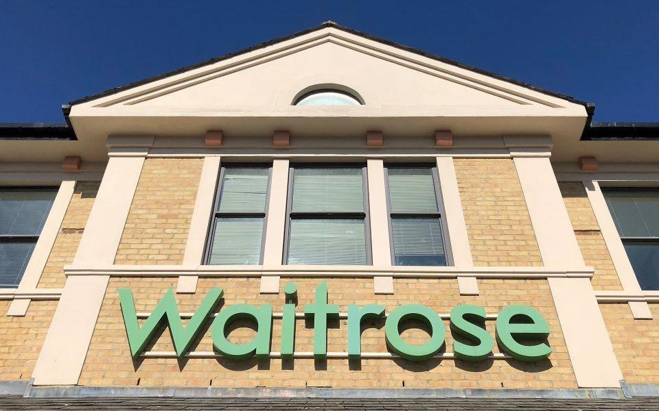 The real John Lewis bonus today was Waitrose