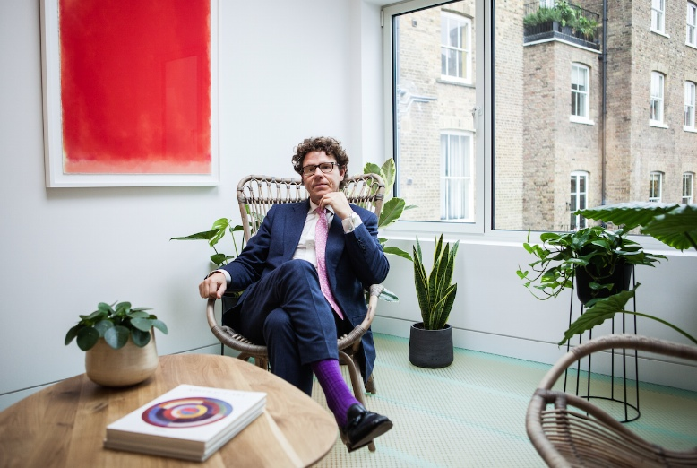 My House: Kristian Robson, the man behind Chelsea tailoring brand Oliver Brown tells us how he built his Notting Hill house on top of a duck pond