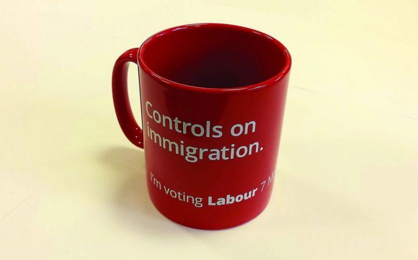"Dianne Abbott brands £5 ""controls on immigration"" mug ""shameful"" – but it is a Labour pledge"