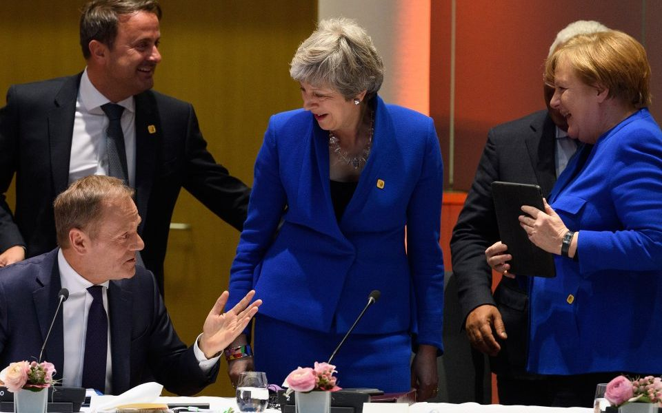 EU leaders offer May a Halloween Brexit extension