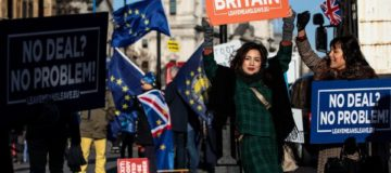 Brexit anniversary: UK still divided but lean towards Remain, poll says