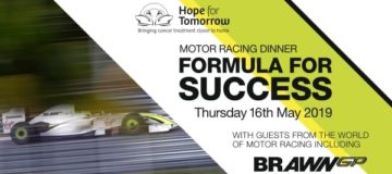 Book now to be part of the Formula for Success Motor racing dinner