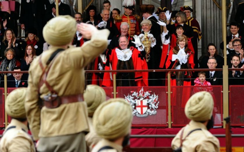 Lord Mayor's Show 2014 in pictures: City of London procession marks Alan Yarrow taking over from Fiona Woolf