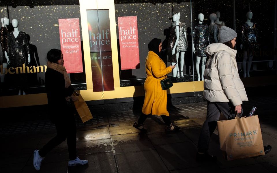 Footfall slides in December as discounting does little to boost retail woes