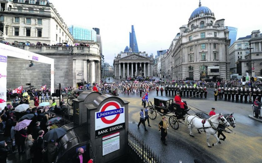 Lord Mayor's Show 2014: Crowds line the City to see Alan Yarrow take over from Fiona Woolf