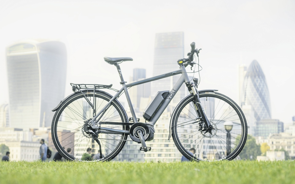 The Volt Infinity ebike pairs world class cycling hardware