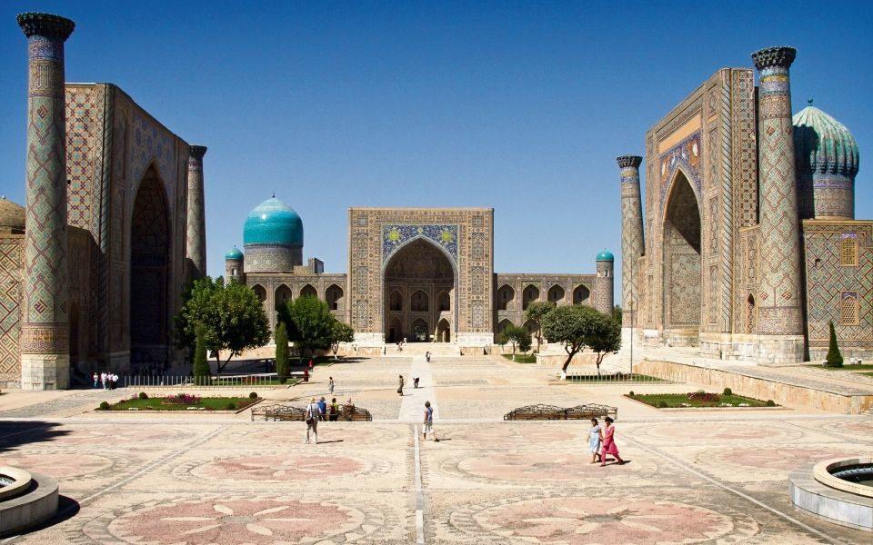 Uzbekistan's amazing architecture