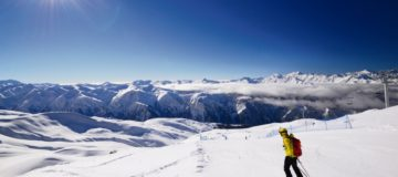 The unspoilt ski slopes of Gudauri in Georgia are Europe's best kept secret