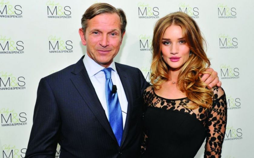 Marks & Spencer chief executive Marc Bolland pockets £600,000 bonus after retailer's first profit rise in four years