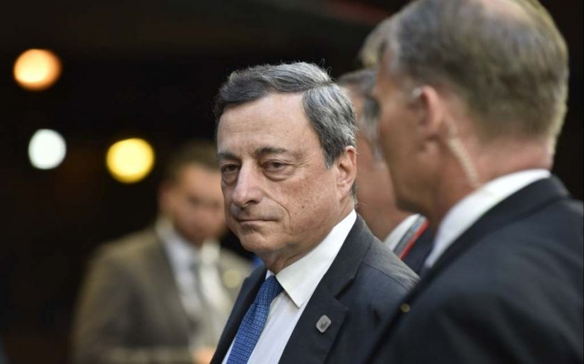 Euro plummets after Mario Draghi's dove-bomb as ECB chief cuts inflation forecasts
