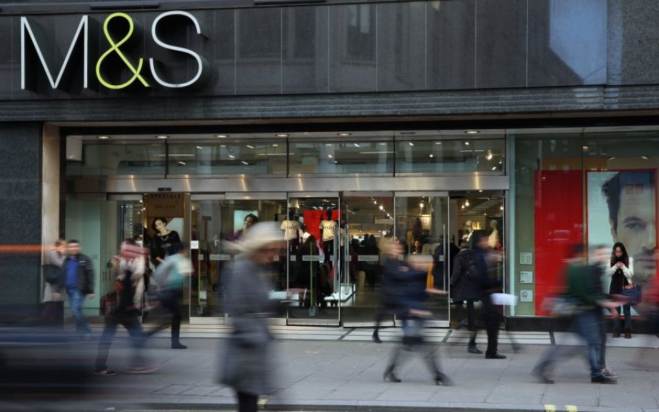 Marks & Spencer blames weak consumer confidence for drop in Christmas sales