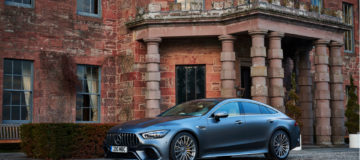 The Mercedes-AMG GT 63S 4-door serves up supercar pace in a more practical package