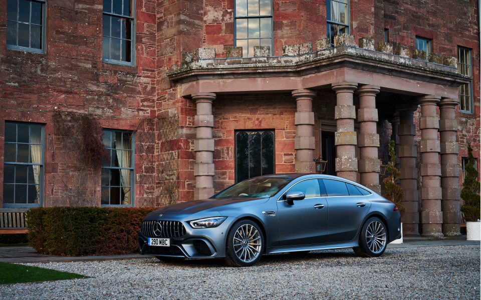 The Mercedes Amg Gt 63s 4 Door Serves Up Supercar Pace In A