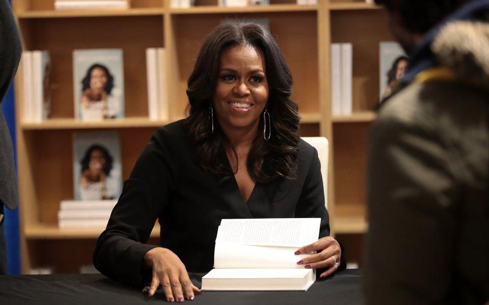 Michelle Obama's Becoming memoir sells 10m copies