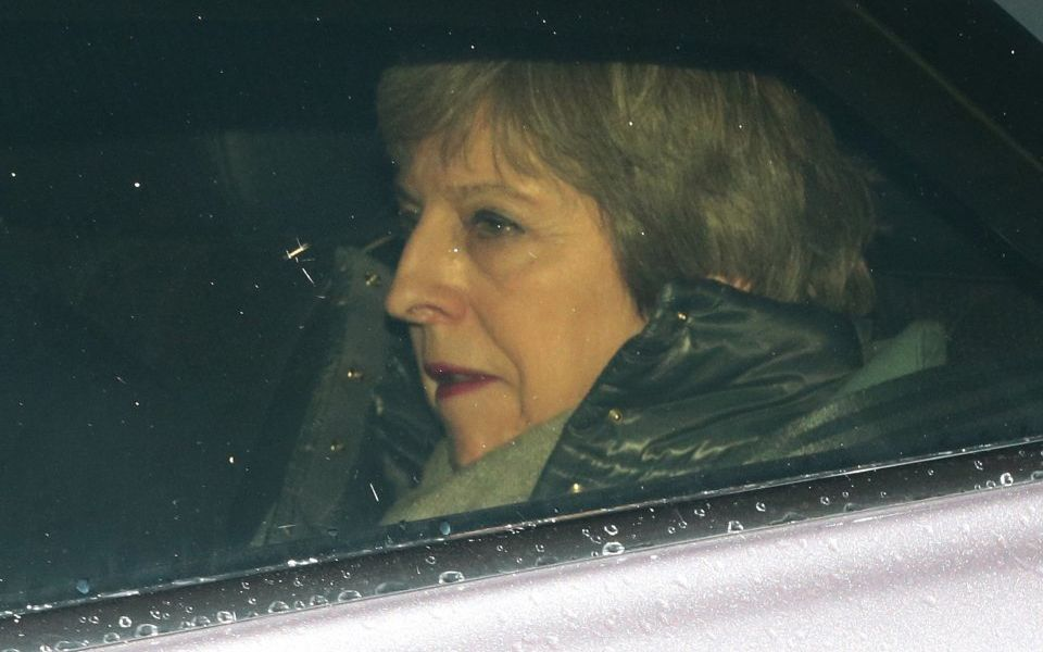 Downing Street confirms Theresa May will ask EU for an