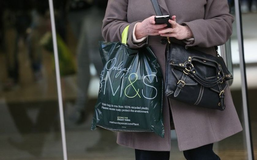 M&S sees clothes sales rise but Bolland still cautious