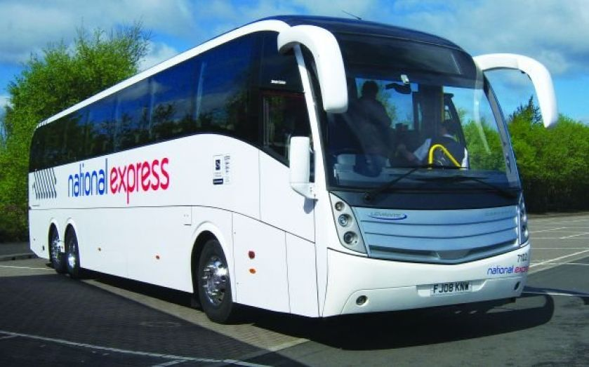 National Express share price accelerates after passenger rise