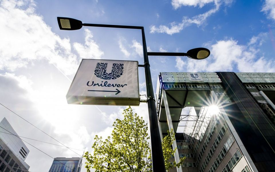 Unilever shares rise as sales grow in first quarter of 2019