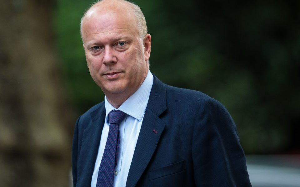 Tory MPs call on Chris Grayling to freeze rail fare hikes until services improve