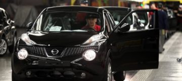 Nissan suffered a sharp decline in June