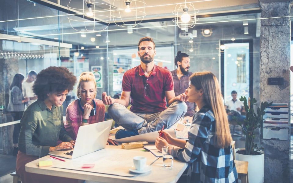 Five ways companies can boost staff wellbeing in the face of work stress