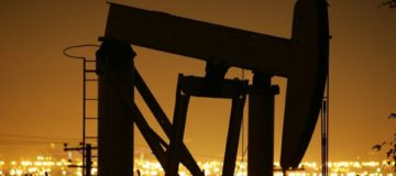 Oil prices fall for first time in ten days but end week higher