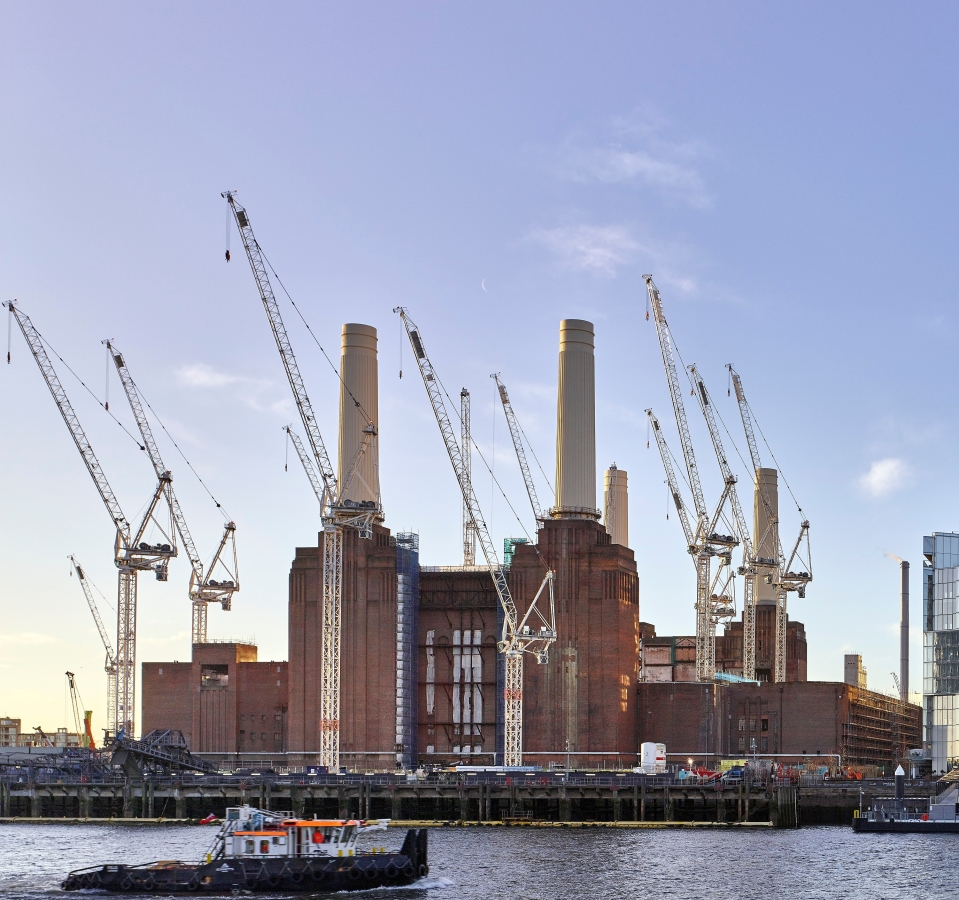 Battersea Power Station set to start energy production after 37 dormant years