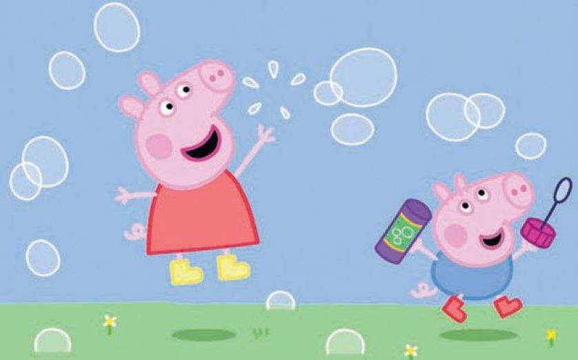Peppa Pig swings to loss days before Hasbro merger vote