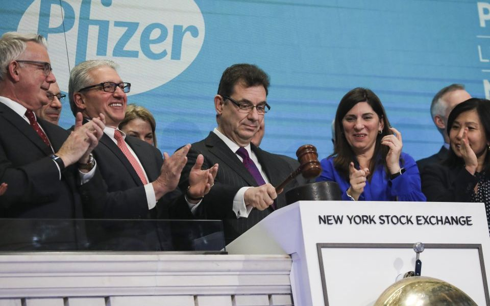 Pfizer shares rise as it beats Wall Street profit estimates for first quarter