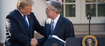 US Federal Reserve chairman Jerome Powell says he would refuse to step down if asked to by Trump