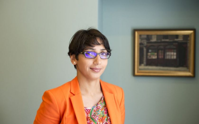 Ladies who don't lunch: Pretty Sagoo talks science, stress and Solvency II